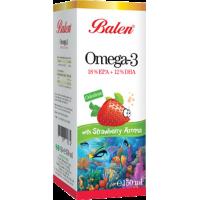 Омега 3 Balen для детей со вкусом клубники