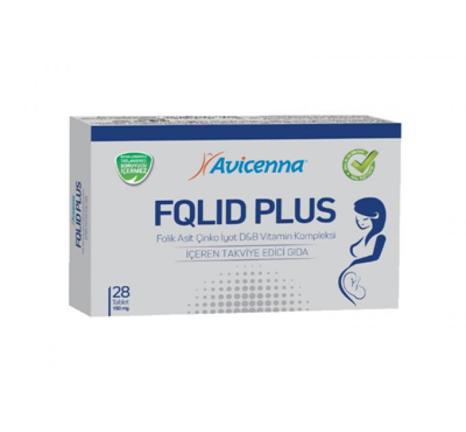 FQLID Plus Avicenna - витамины для беременных